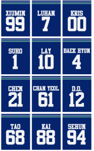 EXO Numbers-2