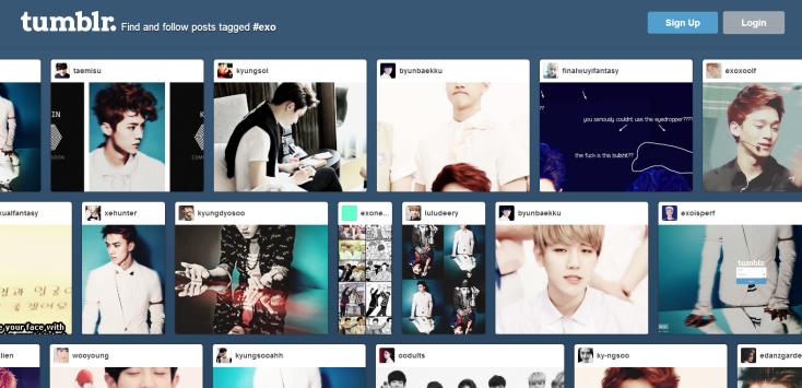 Tumblr EXO