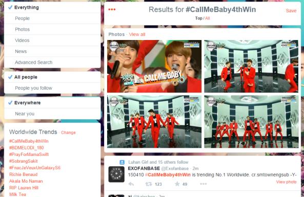 #CALLMEBABY4thwin ww trends 2